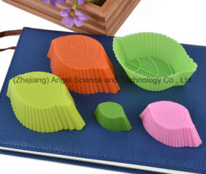 Wholesale Cake Tool Tree Leaf Silicone Muffin Cup Mold Sc03 pictures & photos