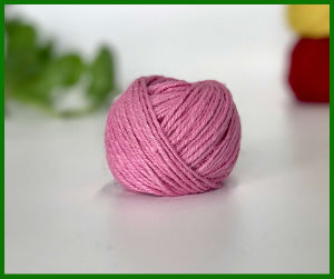 Dyed Jute Fiber Yarn (Pink) pictures & photos