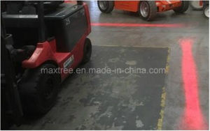 Single Side Red Zone Forklift Safety Light for Trailer Construction pictures & photos