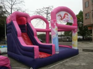Kids Inflatable Princess Bouncer and Slide Comobo pictures & photos
