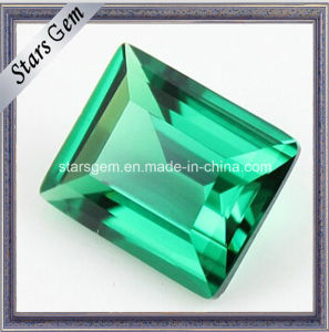 Synthetic Green Emerald Loose Nano Spinel Stone pictures & photos