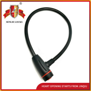 Jq8207 Durable Bicycle Lock Motorcycle Steel Cable Lock with Pvu pictures & photos