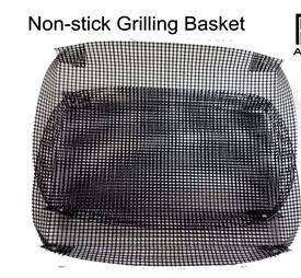 FDA LFGB Certificate PTFE Material Non Stick Grilling Mesh Basket pictures & photos