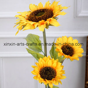 Cheap Sunflower Artificial Flowers with Different Sizes pictures & photos