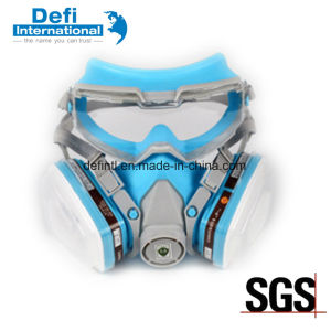Chemical Protective Double Filter Respirator Half Gas Mask pictures & photos