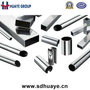 Factory Supply 201 Stainless Steel Welding Decoration Pipes and Tubes pictures & photos