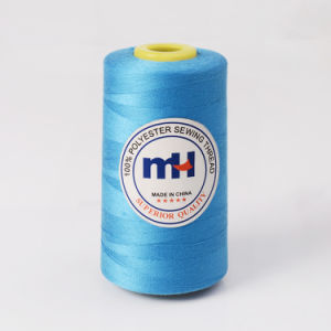 High Quality Cheap 30/2 30s/2 100% Spun Polyester Sewing Thread 3500yds pictures & photos
