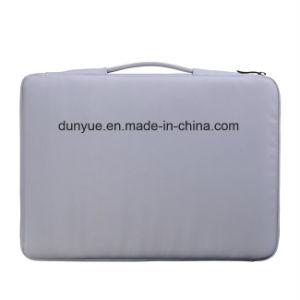 Manufacturer OEM Shockproof Slim Laptop Sleeve Bag, Soft Fur Lining Portable Laptop Briefcase with Zipper pictures & photos
