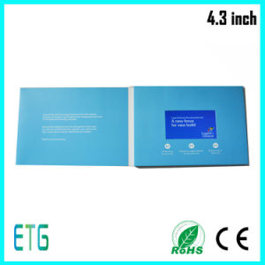 4.3inch LCD Video Cards, Greeting Cards, Business Cards, LCD Video Greeting Card pictures & photos