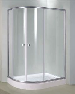 Bathroom 6mm Offset Quadrant Door Shower Enclosure (BR5482W) pictures & photos