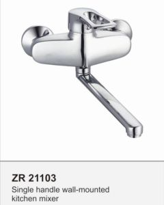 Zr21103 Kitchen Faucet Single Handle Tap