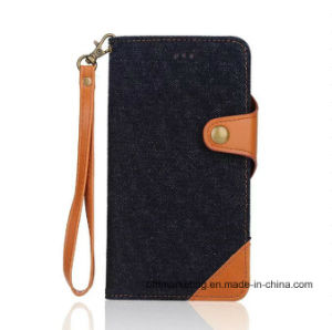 Detachable Jeans 2in1 Leather Wallet Phone Case for iPhone 8/8plus pictures & photos