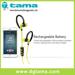 Bluetooth Earhook Earphone with Rechargeable Battery & USB Port pictures & photos