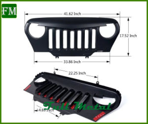 Front Grilles for Jeep Wrangler Tj off Road Accessories pictures & photos