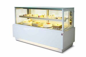 Hot Sale Front Open Cake Showcase with CE pictures & photos