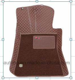Car Mats 3D Diamond Embroidery PVC Leather XPE Carpet pictures & photos