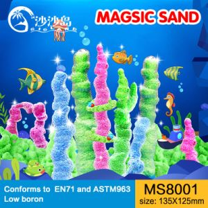 Educational M Style Kinetic Magic Sand Play DIY Toys 5
