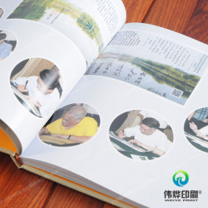 Section Sewing Binding Paper Printing Autograph Book pictures & photos