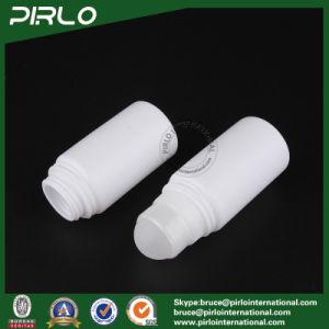 50ml 1.7oz Plain White Plastic Roll on Bottle PP Deodorant Bottles pictures & photos