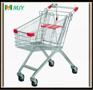 60 Liters Shopping Trolley with Elevator Castors Mjy-60b-E pictures & photos