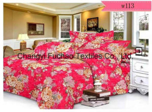 Polyester Very Light Microfiber Disperse Printting Bedding Set T/C 65/35 pictures & photos