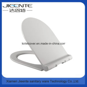 Toilet Seat and Cover in Plastic PP Slimed Line U Shape pictures & photos
