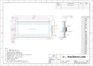 192X64 MCU Graphic LCD Display, Ks0108, 20pin, for POS, Doorbell, Medical, Cars pictures & photos