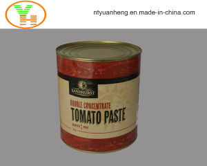 Aseptic Tomato Paste Tomato Puree Canned Vegetable pictures & photos