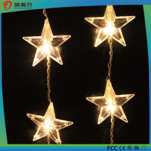 Hot Selling 5m colorful Hanging White Star LED String Light pictures & photos