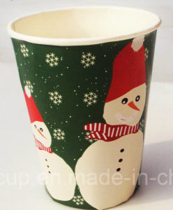 9oz 10oz Eco-Freindly Disposable Paper Party Cups (YHC-080) pictures & photos