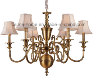 Hanging Decoration Traditional Iron Chandelier Lighting (SL2153-6) pictures & photos