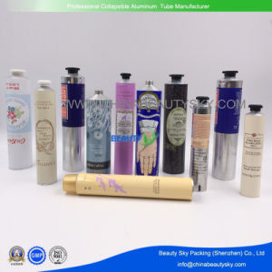 Squeezable Collapsible Aluminum Hand Cream Packaging Tubes pictures & photos