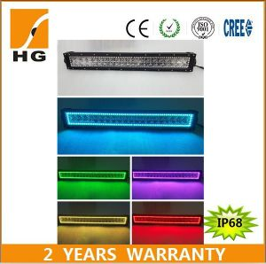 "Wholesale 288W LED Light Bar 50"" RGB Lighting off Road LED Light Bar pictures & photos"