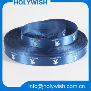 Car Logo Silk Printed Fabric Satin Ribbon Wholesale