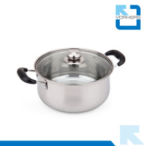 3 Pieces Stainless Steel Kitchenware Set Pot Cookware Set pictures & photos