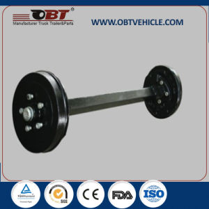 Obt Straight Axle with Electric Drum Brake for Hot Sale pictures & photos