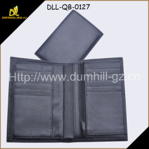 Multifunction Fall Grains Leather Travel Passport Holder pictures & photos