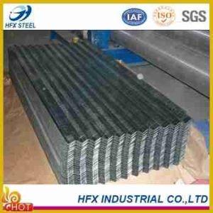 Somalia Zinc 40g Bwg32 Galvanized Corrugated Steel Sheet pictures & photos