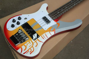 Hanhai Left Handed Ricken Electric Bass with 4 Strings (4003) pictures & photos