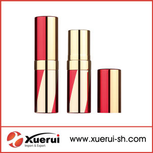 China Round Metal Wholesale Red Empty Lipstick Tube pictures & photos