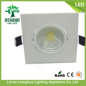 5W 7W 9W COB Round Sqaure Ceiling Light LED Downlight pictures & photos