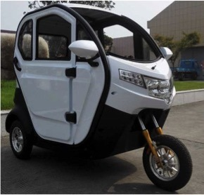 High Quality Closed Electric Tricycle for Passenger pictures & photos