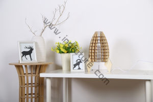 DIY Fashionable Healthy Wooden Decorative Children Rocket Desk Lamp pictures & photos