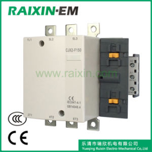 Raixin Cjx2-F150 AC Contactor 3p Magnetic Contactor AC-3 380V 75kw Magnetic Contactor pictures & photos