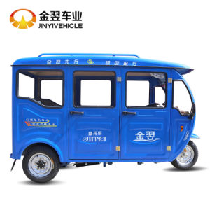 125cc 150cc 200cc blue Tricycle Passenger Tricycle for Gasoline Type pictures & photos
