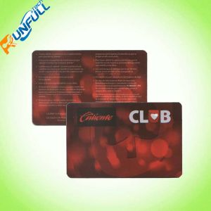 Cr80 Size Customer Design Matte/Glossy Finish Plastic Promotional Card pictures & photos