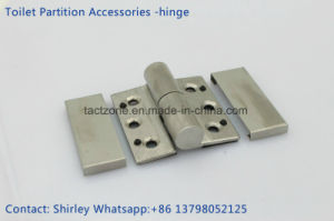 Professional Manufacturer Toilet Partition Accessories Stainless Steel Door Hinge pictures & photos