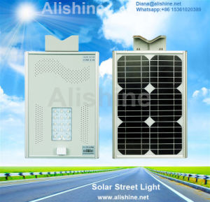 Microwave Radar Sensor Integrated Outdoor Solar LED Street Garden Light pictures & photos