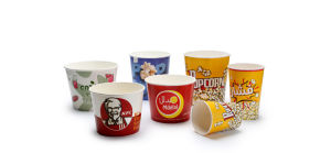 Automatic Paper Bucket Machine for Popcorn Kfc Bucket pictures & photos
