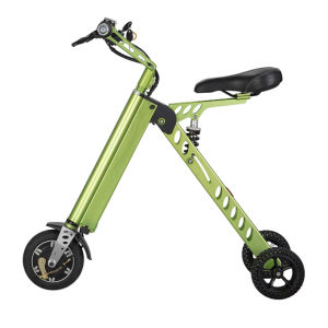 Portable 250W Factory Supply Three Wheels Electric Foldable Bike pictures & photos
